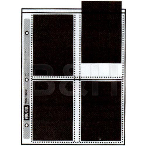"Vue-All Photo Saver Archival Storage Page (4x6"", Holds 8 Prints, 100 Pack)"