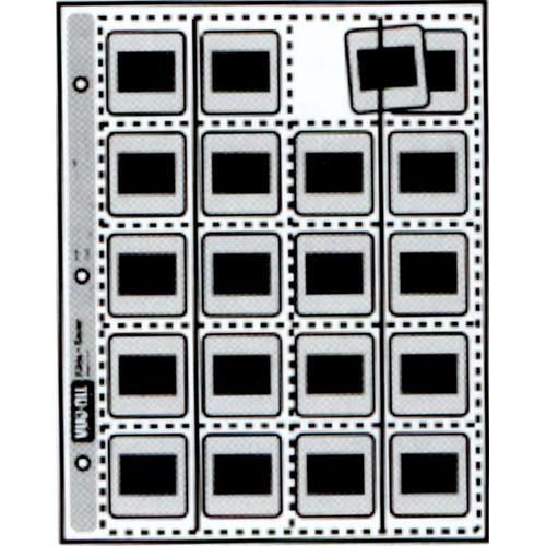 Vue-All 7160 35mm Slide Saver Archival Storage Page (Side Load, 100 Pack)