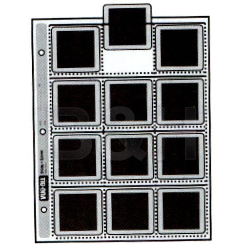 Vue-All Slide Saver Archival Storage Page, 6x6cm - 25 Pack
