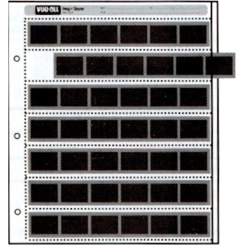Vue-All Negative Saver Archival Storage Page, 35mm - 25 Pack