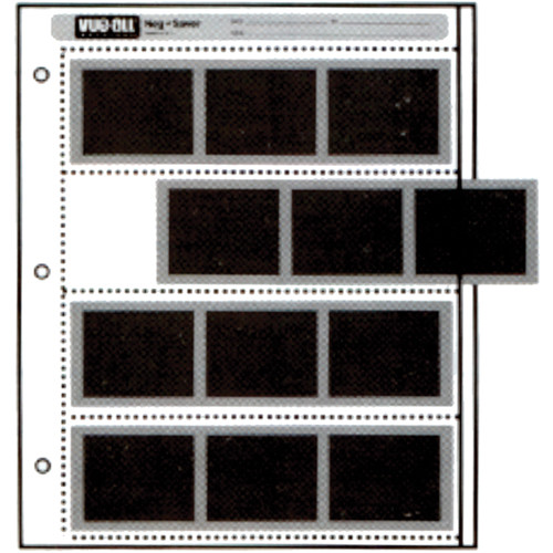 Vue-All Negative Saver Archival Storage Page, 6x7cm - 100 Pack