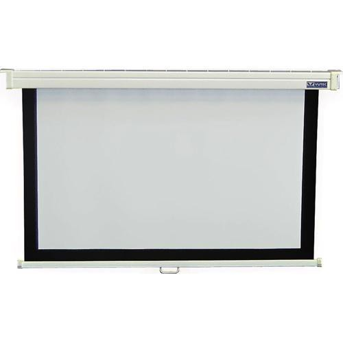 "Vutec EconoPro Deluxe Manual Front Projection Screen (45x80"")"