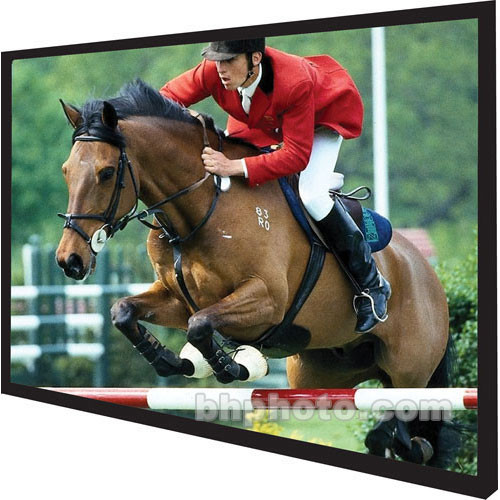 """Vutec Vu-Easy Permanently Tensioned Wall Projection Screen (46.75x62.25"""")"""