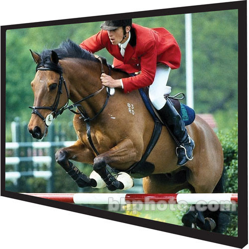 """Vutec Vu-Easy Permanently Tensioned Wall Projection Screen (60x80"""")"""