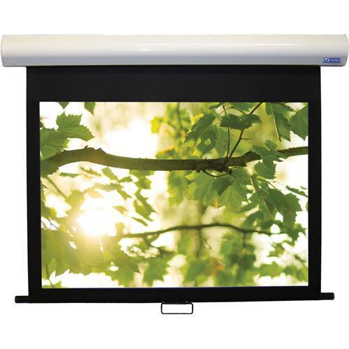 "Vutec 01-HD3096-128MWW HD III Deluxe Manual Front Projection Screen (96x128"")"