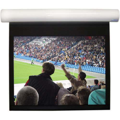 Vutec Lectric 1 Motorized Front or Rear Projection Screen (72 x 128, 120V/60Hz)