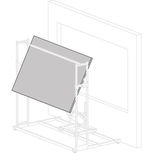 "Vutec 01-MT024-024GL Mirror-Tec Glass Mirror for Rear Projection Systems (24 x 24"")"