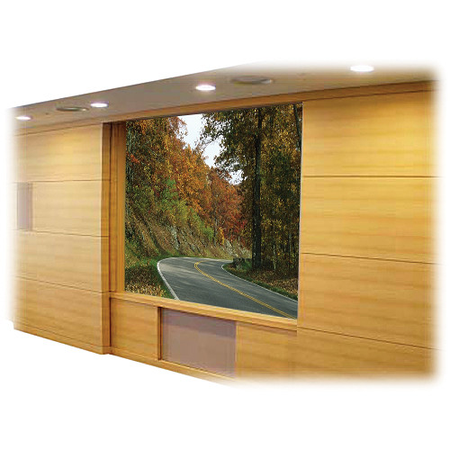 "Vutec 01-RV102-.25A-72 Retro-Vu Rigid Rear View Diffusion Projection Screen (72 x 72"")"