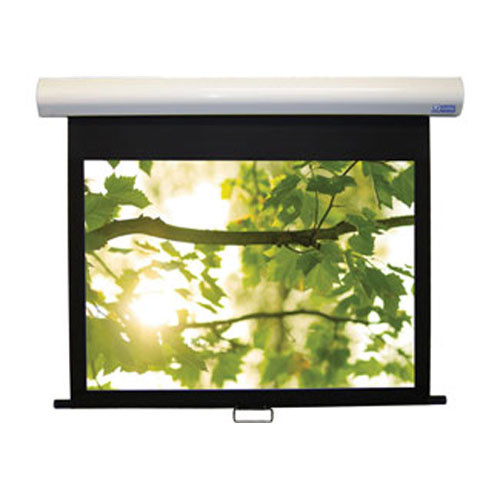 "Vutec HD II Manual Front Retractable Projection Screen (46 x 62"")"