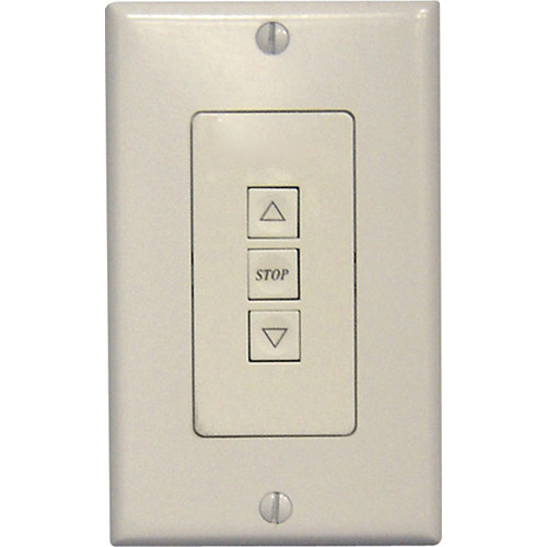 Vutec 100453 Decora Low Voltage 3-Button Wall Switch (White)
