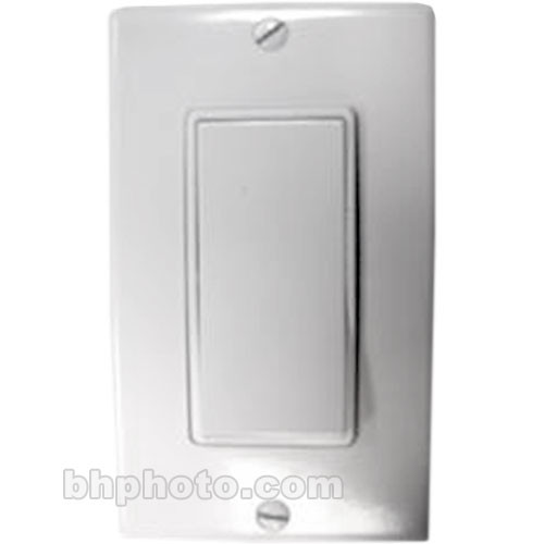 Vutec Decorator Paddle Wall Switch with Plate - Ivory