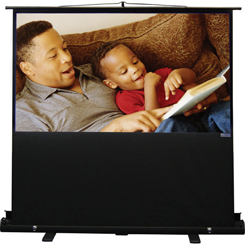"Vutec EVPV4580 Porta-Vu Riser Portable Projection Screen (45 x 80"")"