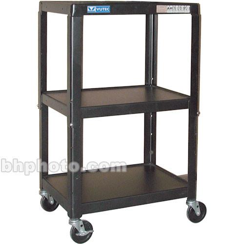 """Vutec 26-42""""H Adjust A/V Cart w/Elec"""