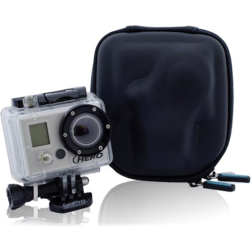 Wambam Buffa GoPro Carrying & Travel Case (Black)