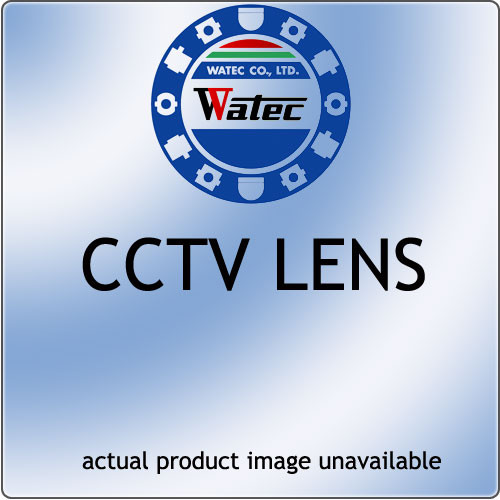 "Watec 13VA286-SQ 1/3"" 2.8-6mm f/1.2 CS Mount Lens with Auto Iris Video"