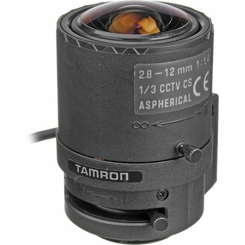 "Watec 13VG2812AS-SQ 1/3"" CS Mount 2.8-12mm f/1.4 Lens with Auto Iris DC"