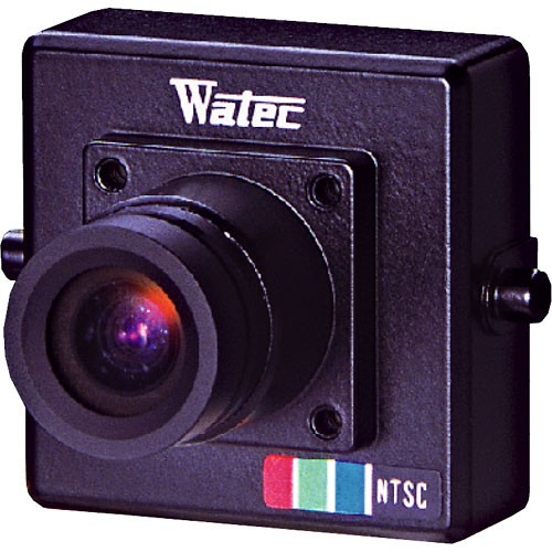 Watec WAT-230 VIVID G3.8 Miniature Color Camera with 3.8mm M12 Mount Lens