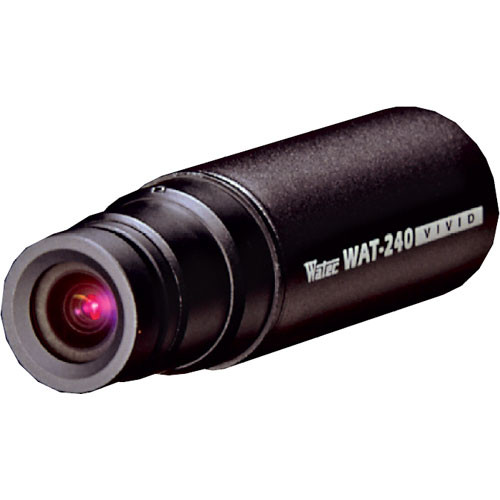 Watec WAT-240 VIVID Ultra Compact Color Bullet Camera w/3.8mm Glass Lens