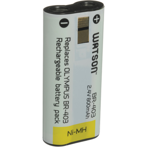 Watson BR-403 Rechargeable Ni-MH Battery Pack for Olympus Digital Voice Recorder
