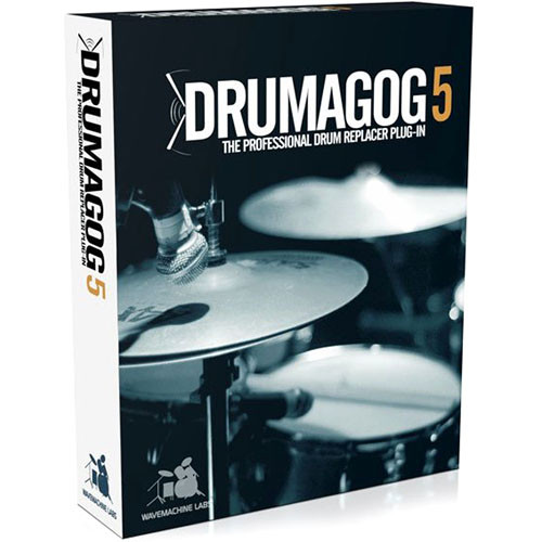 WaveMachine Labs Drumagog 5.0 Pro - Drum Replacer Plug-In