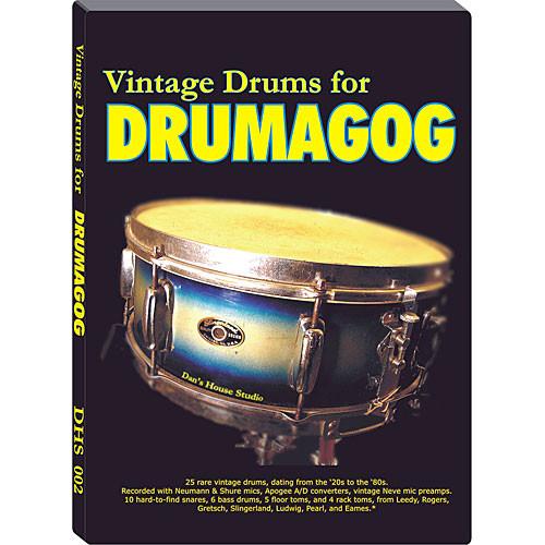 WaveMachine Labs Dan's House Vintage Drum Library for Drumagog Platinum