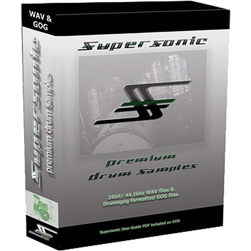 WaveMachine Labs Supersonic Samples Library for Drumagog Platinum