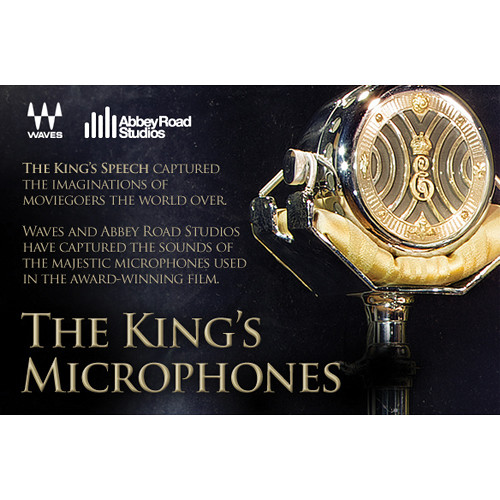 """Waves The King's Microphones - Vintage """"Royal"""" Microphones Models for Native Systems (Download)"""