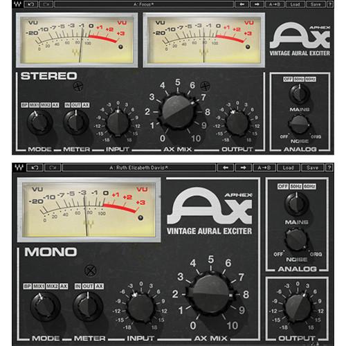 Waves Aphex Vintage Aural Exciter - Audio Enhancement Plug-In (TDM)