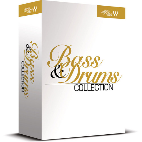 Waves Signature Series Bass and Drums Collection - Plug-In Bundle (Native)