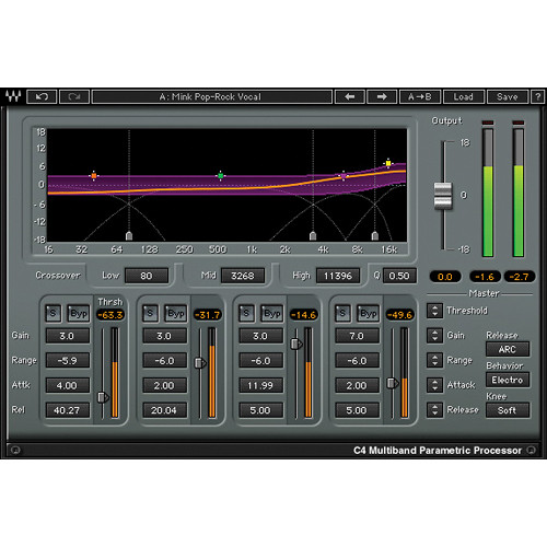 Waves C4 Multiband - Dynamics Processor Plug-In (Native)