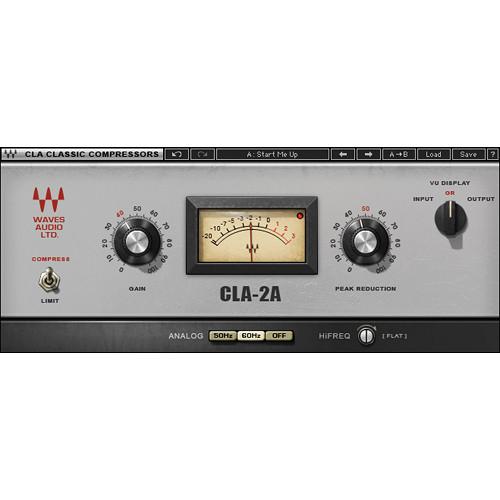 Waves CLA-2 - Compressor/Limiter Plug-In (Native)