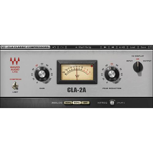 Waves CLA-2A - Compressor/Limiter Plug-In (TDM)