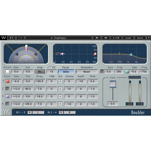Waves Doubler - Double-Tracking Effects Plug-In (TDM)