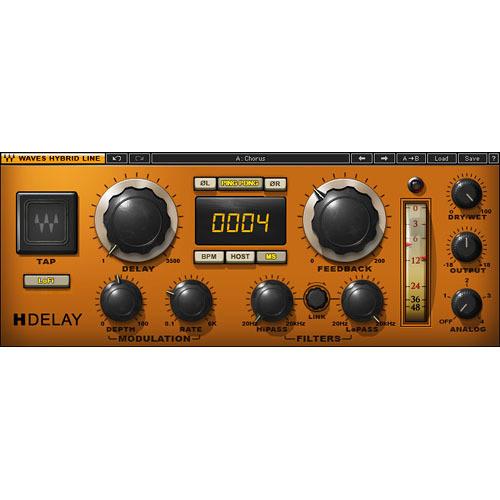 Waves H-Delay - Hybrid Delay Plug-In (TDM)