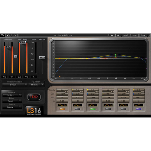 Waves L3-16 Multimaximizer - Peak Limiter Plug-In (Native)