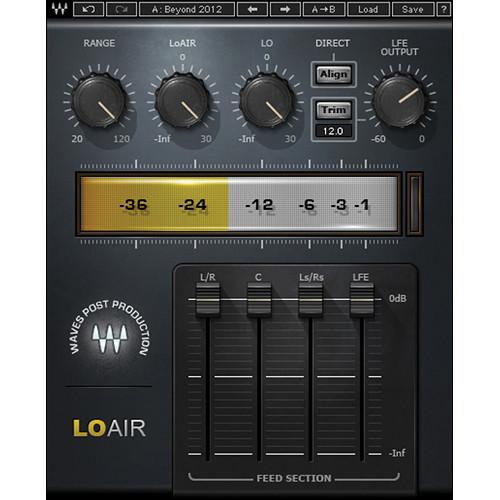Waves LoAir - Subharmonic Synthesizer Plug-In (TDM)