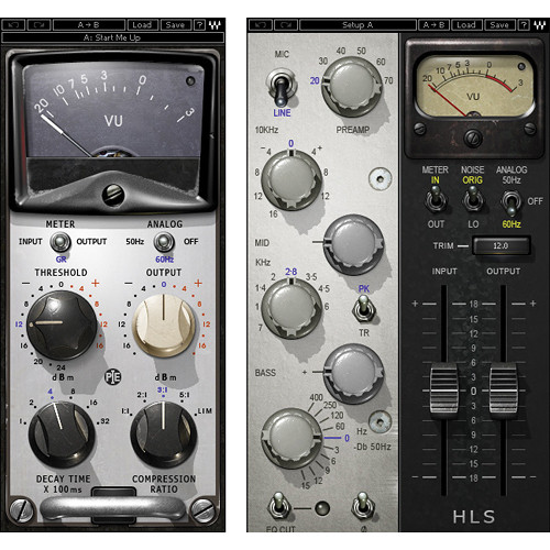 Waves Pie Compressor + HLS Channel - Compressor, EQ Bundle (Native)
