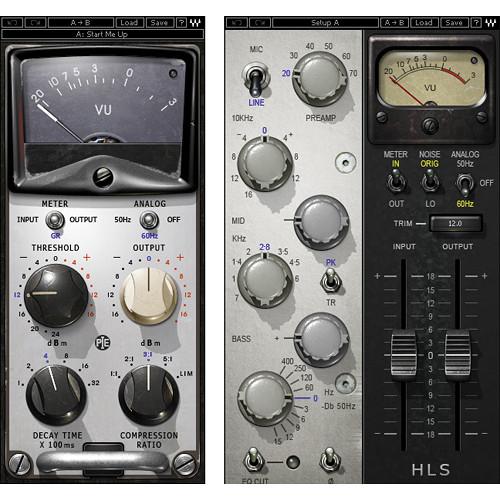 Waves Pie Compressor + HLS Channel - Compressor, EQ Bundle (TDM)