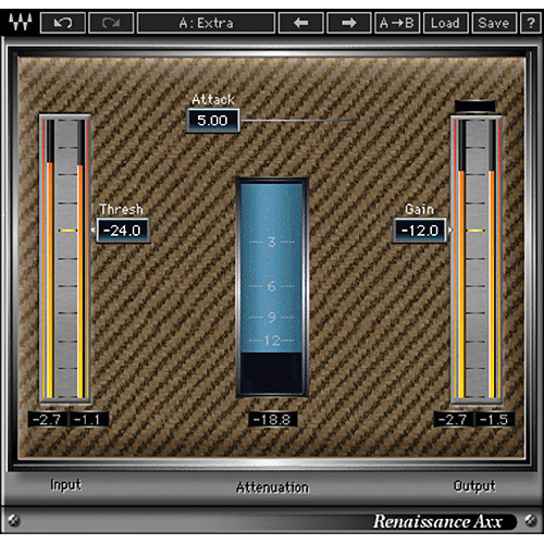 Waves Renaissance Axx - Dynamics Plug-In (TDM)