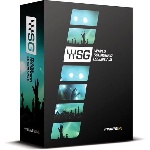 Waves SoundGrid Essentials Bundle - Live Sound Plug-Ins for SoundGrid