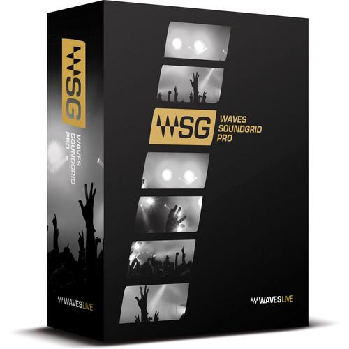 Waves SoundGrid Pro Bundle - Live Sound Plug-Ins for SoundGrid