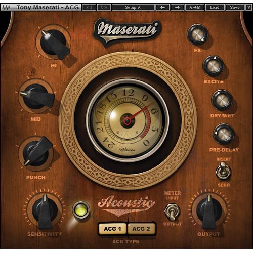 Waves Maserati ACG - Acoustic Guitar Designer Plug-In (Native)
