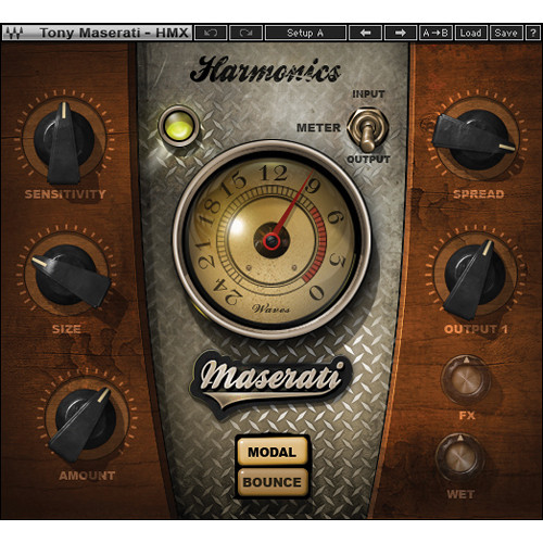 Waves Maserati HMX - Harmonic Generator Plug-In (Native)