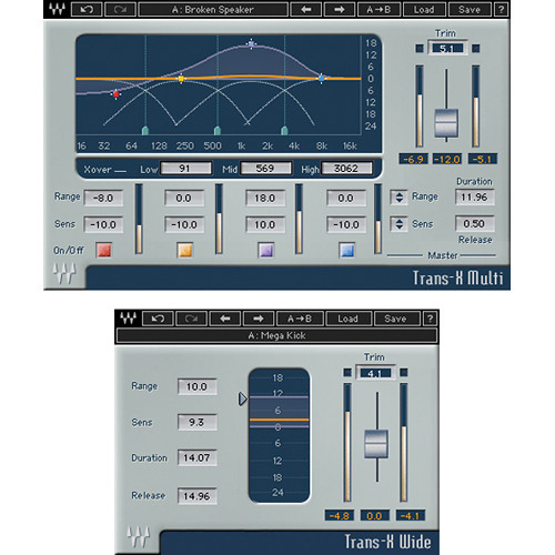 Waves TransX - Transient Modifying Plug-In (TDM)