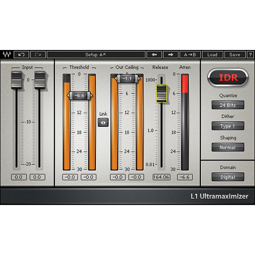 Waves L1 Ultramaximizer - Loudness Maximizer Plug-In (Native)