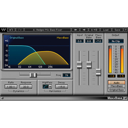 Waves MaxxBass - Bass Enhancement Plug-In (Native)