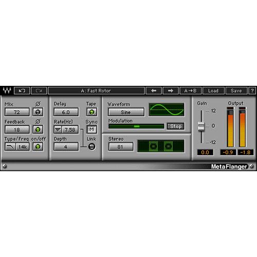 Waves MetaFlanger - Flanger Plug-In (TDM)