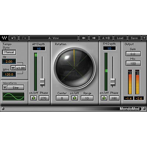 Waves MondoMod - Modulation Plug-In (TDM)