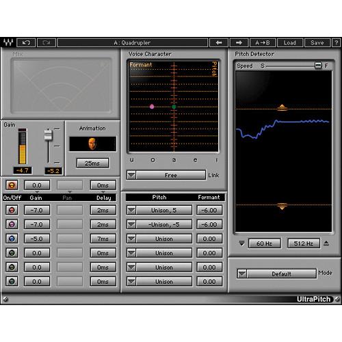 Waves UltraPitch - Harmonizing Plug-In (Native)