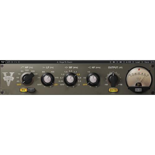 Waves V-EQ3 - Vintage Style EQ Plug-In (TDM)